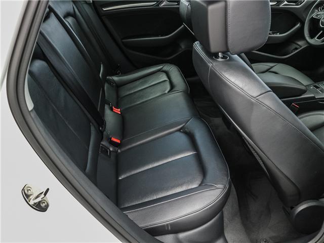 2018 Audi A3 2.0T Progressiv (Stk: P3105) in Toronto - Image 21 of 30