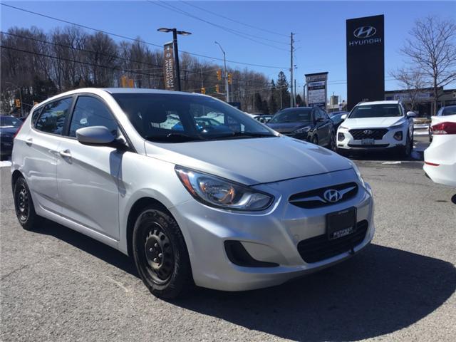 2012 Hyundai Accent L (Stk: X1247A) in Ottawa - Image 1 of 11
