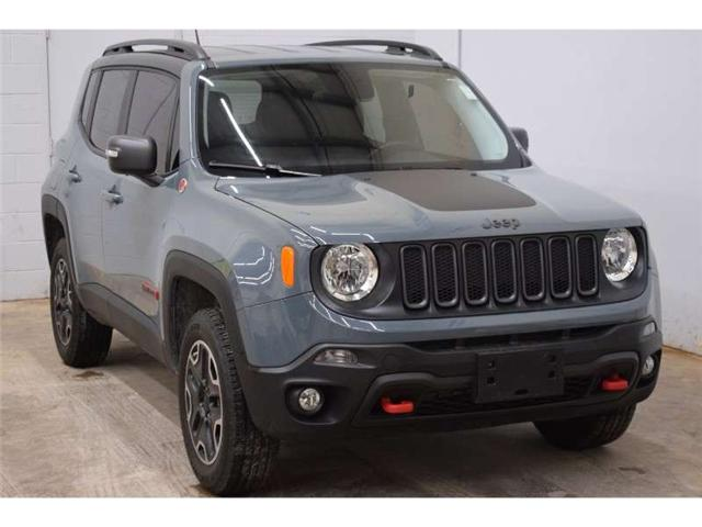 2017 Jeep Renegade TRAILHAWK 4X4 - BACKUP CAM * HTD SEATS * SAT RADIO (Stk: B3524) in Cornwall - Image 2 of 30
