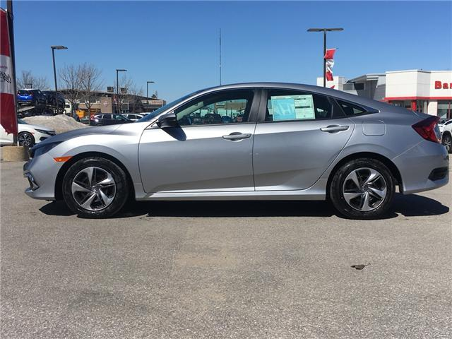 2019 Honda Civic LX (Stk: 19209) in Barrie - Image 3 of 13