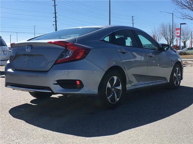 2019 Honda Civic LX (Stk: 19209) in Barrie - Image 6 of 13