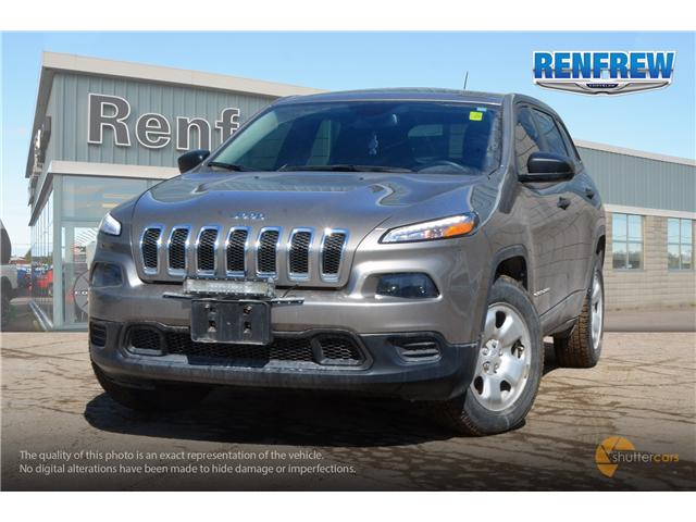 2016 Jeep Cherokee Sport (Stk: K114A) in Renfrew - Image 1 of 20