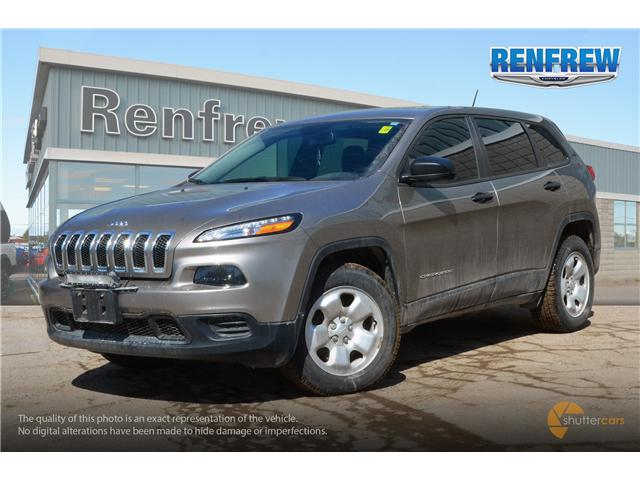 2016 Jeep Cherokee Sport (Stk: K114A) in Renfrew - Image 2 of 20