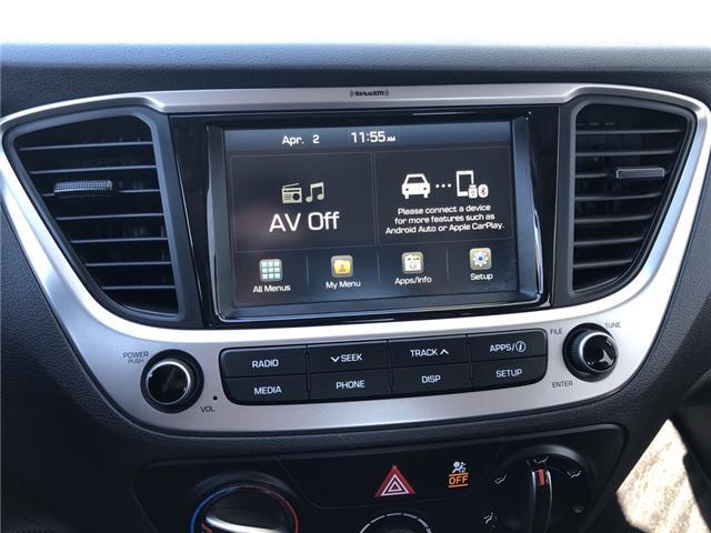 2018 Hyundai Accent GL (Stk: U3370) in Charlottetown - Image 13 of 19
