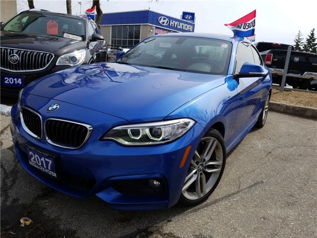 2017 BMW 230i xDrive (Stk: 38688A) in Mississauga - Image 1 of 16