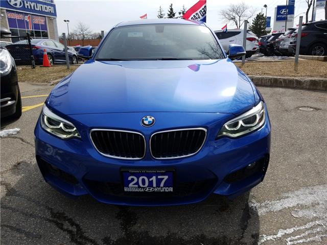 2017 BMW 230i xDrive (Stk: 38688A) in Mississauga - Image 2 of 16