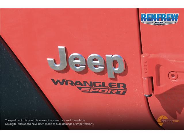 2019 Jeep Wrangler Sport (Stk: K174) in Renfrew - Image 6 of 20
