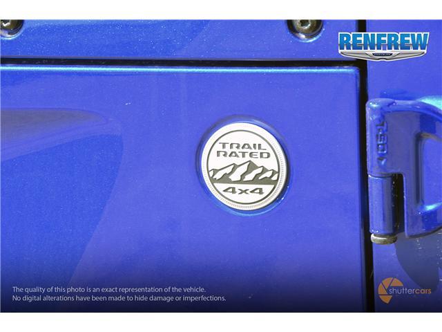 2019 Jeep Wrangler Sport (Stk: K180) in Renfrew - Image 7 of 20