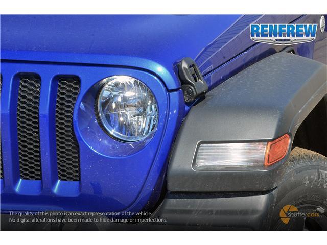 2019 Jeep Wrangler Sport (Stk: K180) in Renfrew - Image 8 of 20