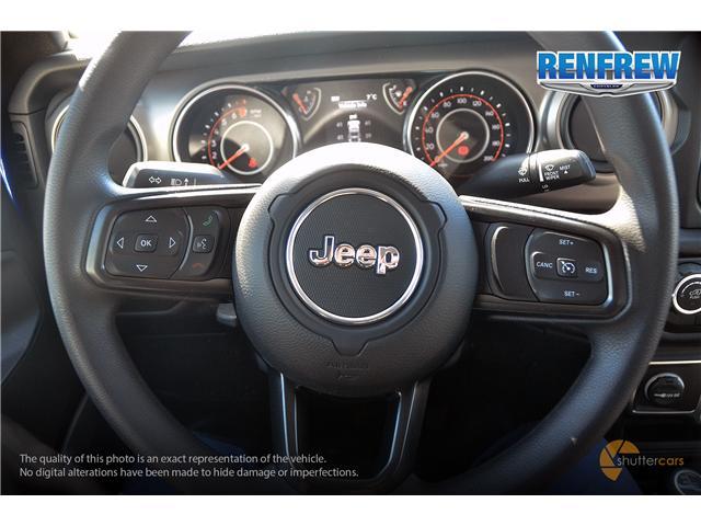 2019 Jeep Wrangler Sport (Stk: K180) in Renfrew - Image 11 of 20