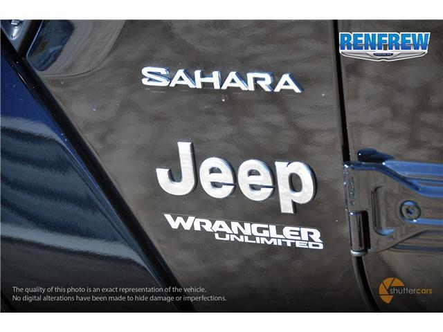 2019 Jeep Wrangler Unlimited Sahara (Stk: K181) in Renfrew - Image 6 of 20