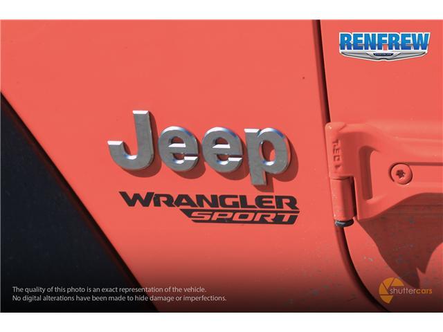 2019 Jeep Wrangler Sport (Stk: K182) in Renfrew - Image 6 of 20
