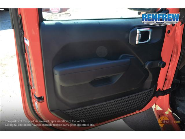 2019 Jeep Wrangler Sport (Stk: K182) in Renfrew - Image 8 of 20