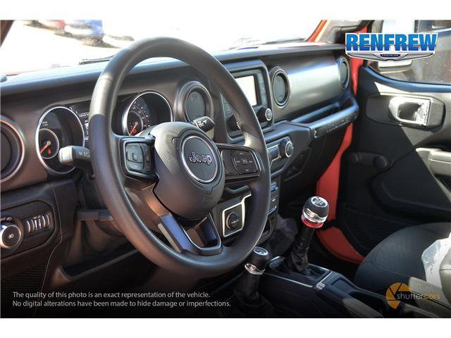 2019 Jeep Wrangler Sport (Stk: K182) in Renfrew - Image 9 of 20