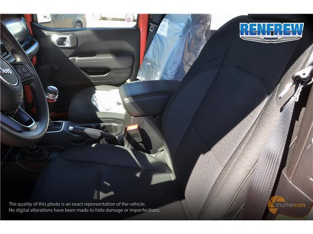 2019 Jeep Wrangler Sport (Stk: K182) in Renfrew - Image 10 of 20