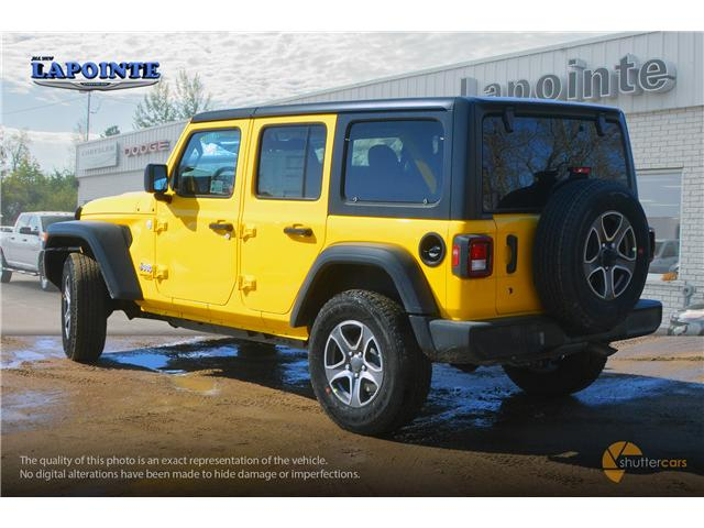 2019 Jeep Wrangler Unlimited Sport (Stk: 19233) in Pembroke - Image 4 of 20
