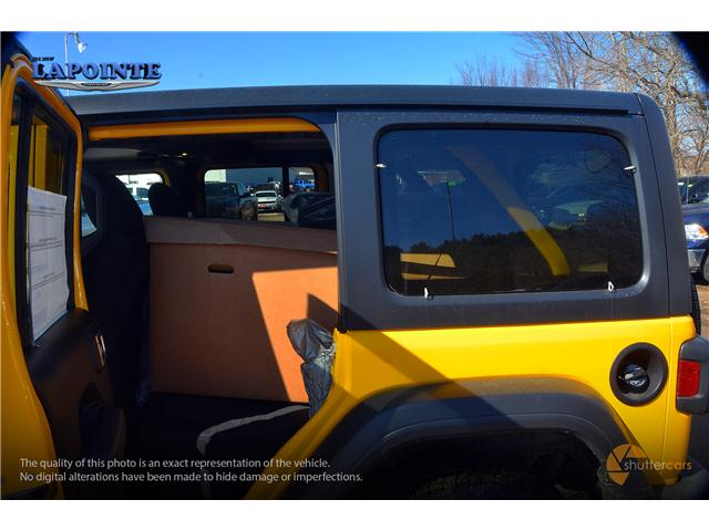 2019 Jeep Wrangler Unlimited Sport (Stk: 19233) in Pembroke - Image 6 of 20