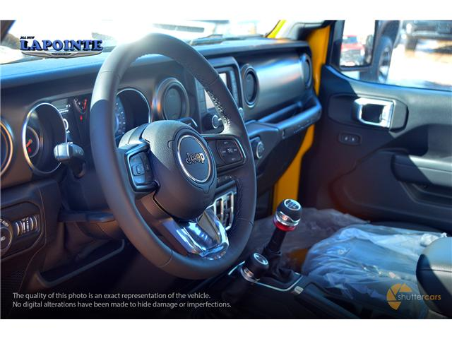 2019 Jeep Wrangler Unlimited Sport (Stk: 19233) in Pembroke - Image 7 of 20