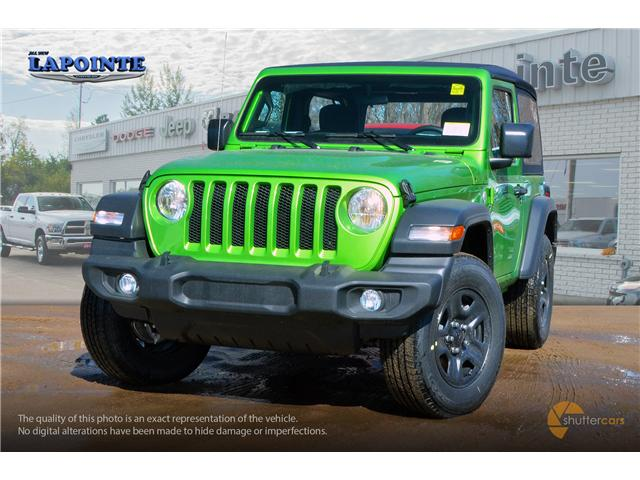 2019 Jeep Wrangler Sport (Stk: 19243) in Pembroke - Image 1 of 20