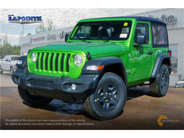 2019 Jeep Wrangler Sport (Stk: 19243) in Pembroke - Image 2 of 20