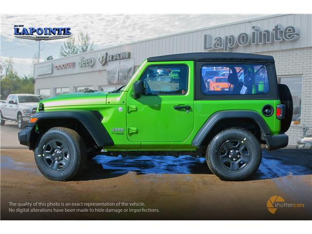 2019 Jeep Wrangler Sport (Stk: 19243) in Pembroke - Image 3 of 20