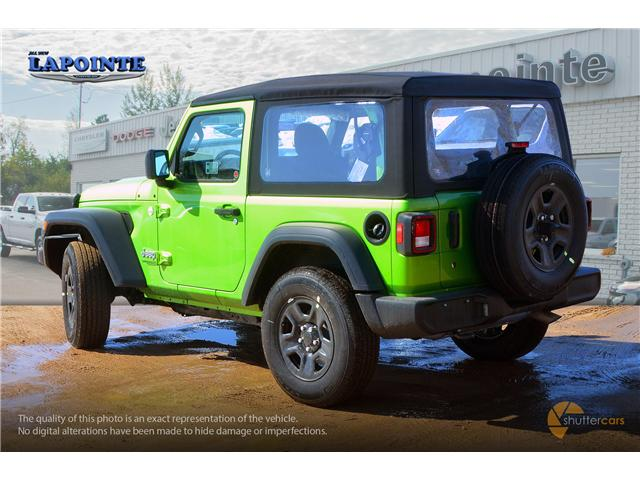 2019 Jeep Wrangler Sport (Stk: 19243) in Pembroke - Image 4 of 20