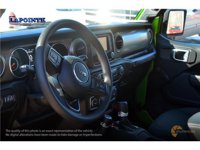 2019 Jeep Wrangler Sport (Stk: 19243) in Pembroke - Image 9 of 20