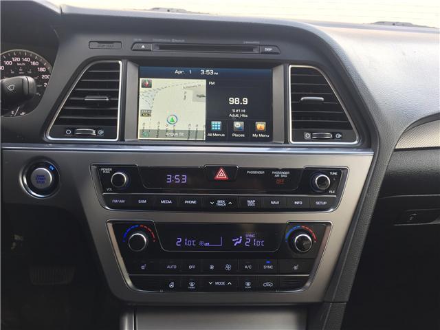 2016 Hyundai Sonata Sport Tech (Stk: D1298) in Regina - Image 16 of 23