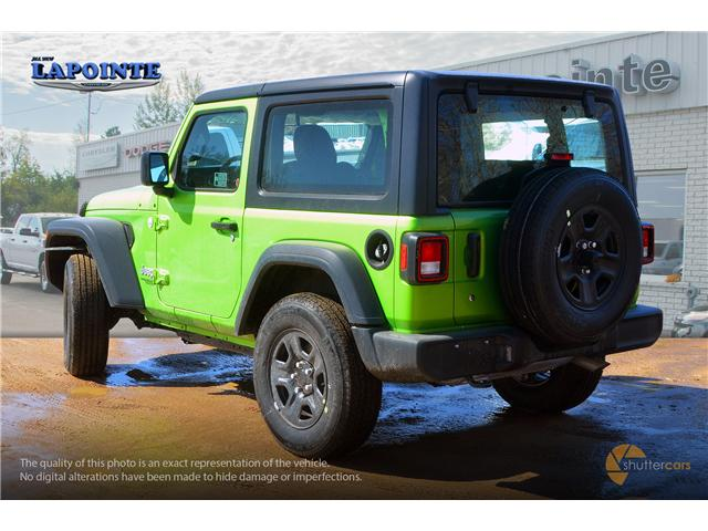2019 Jeep Wrangler Sport (Stk: 19252) in Pembroke - Image 4 of 20