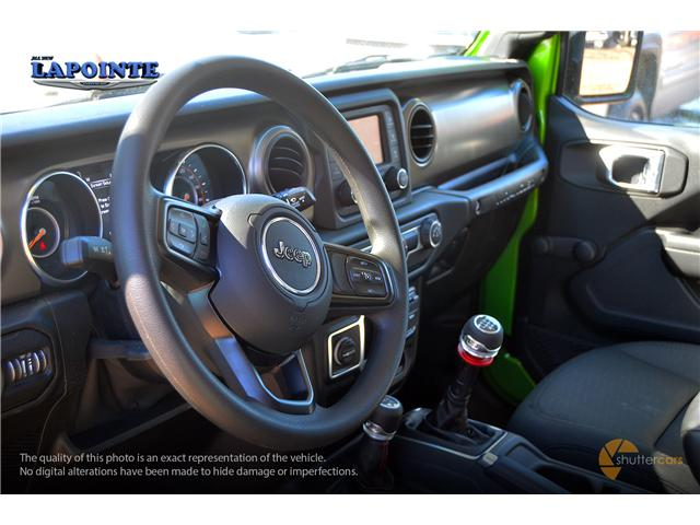 2019 Jeep Wrangler Sport (Stk: 19252) in Pembroke - Image 10 of 20