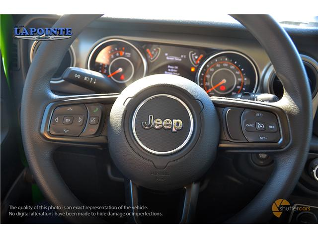2019 Jeep Wrangler Sport (Stk: 19252) in Pembroke - Image 12 of 20
