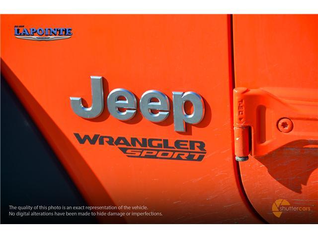 2019 Jeep Wrangler Sport (Stk: 19263) in Pembroke - Image 6 of 20