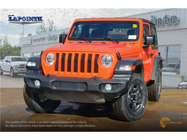 2019 Jeep Wrangler Sport (Stk: 19266) in Pembroke - Image 1 of 20