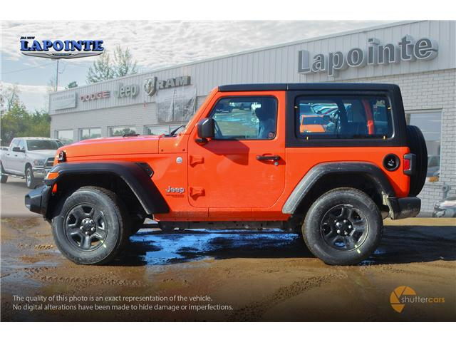 2019 Jeep Wrangler Sport (Stk: 19266) in Pembroke - Image 3 of 20