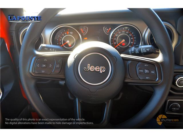 2019 Jeep Wrangler Sport (Stk: 19266) in Pembroke - Image 10 of 20