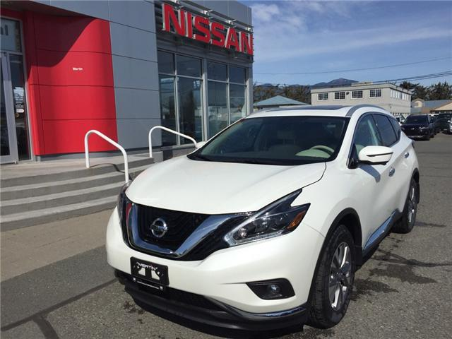 2018 Nissan Murano SL (Stk: N86-3889) in Chilliwack - Image 1 of 15