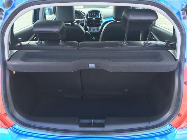 2017 Chevrolet Spark 2LT CVT (Stk: 17-44222JB) in Barrie - Image 17 of 29
