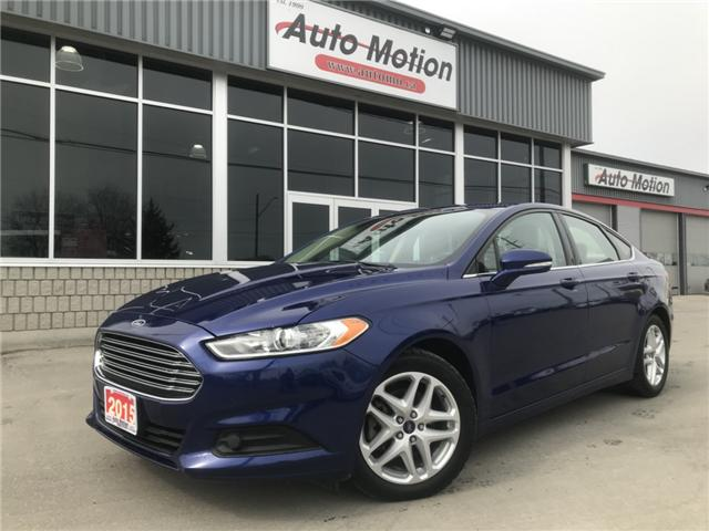 2015 Ford Fusion SE (Stk: 19334) in Chatham - Image 1 of 19