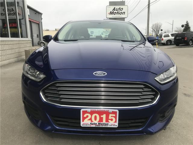 2015 Ford Fusion SE (Stk: 19334) in Chatham - Image 5 of 19