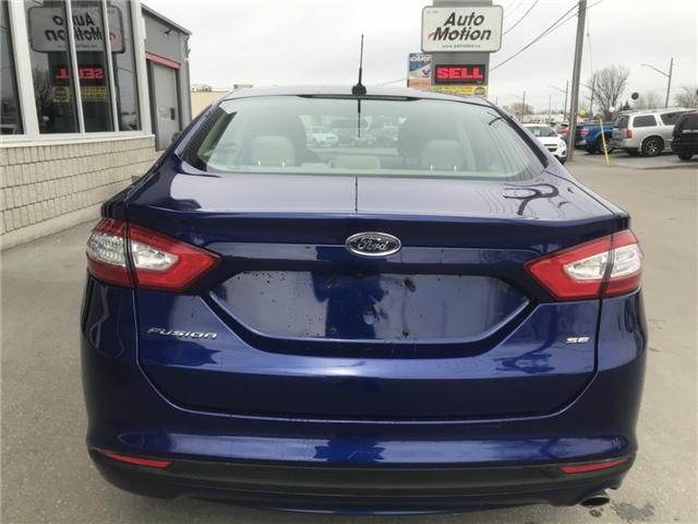 2015 Ford Fusion SE (Stk: 19334) in Chatham - Image 6 of 19