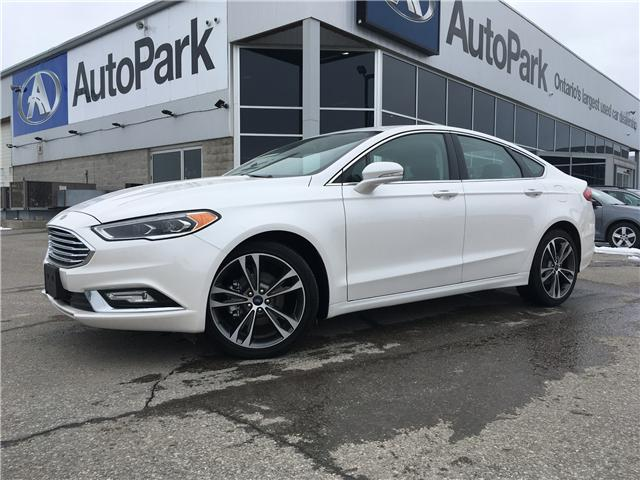 2018 Ford Fusion Titanium (Stk: 18-71946RMB) in Barrie - Image 1 of 28