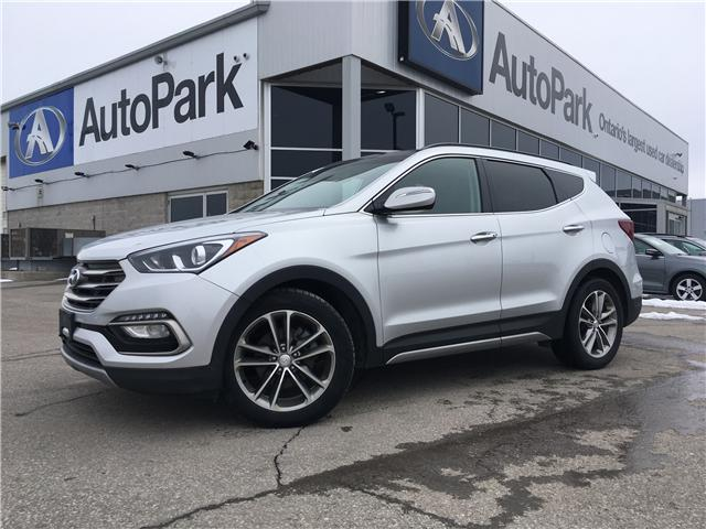 2017 Hyundai Santa Fe Sport 2.0T Limited (Stk: 17-50526RJB) in Barrie - Image 1 of 30
