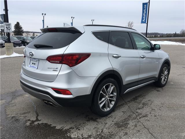 2017 Hyundai Santa Fe Sport 2.0T Limited (Stk: 17-50526RJB) in Barrie - Image 5 of 30