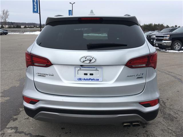 2017 Hyundai Santa Fe Sport 2.0T Limited (Stk: 17-50526RJB) in Barrie - Image 6 of 30