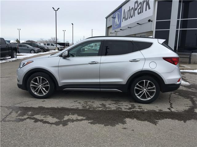 2017 Hyundai Santa Fe Sport 2.0T Limited (Stk: 17-50526RJB) in Barrie - Image 8 of 30