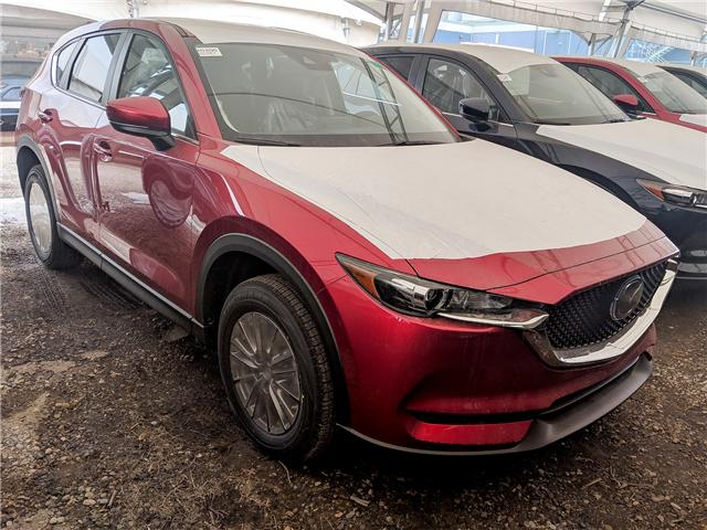 2019 Mazda CX-5 GS (Stk: H1695) in Calgary - Image 1 of 1