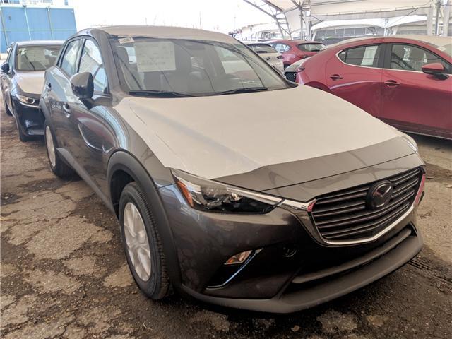 2019 Mazda CX-3 GS (Stk: H1687) in Calgary - Image 1 of 1
