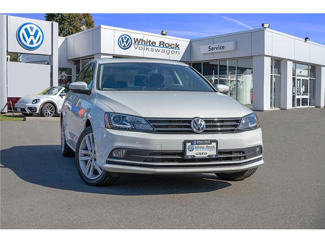 2017 Volkswagen Jetta 1.8 TSI Highline (Stk: VW0832) in Surrey - Image 1 of 30