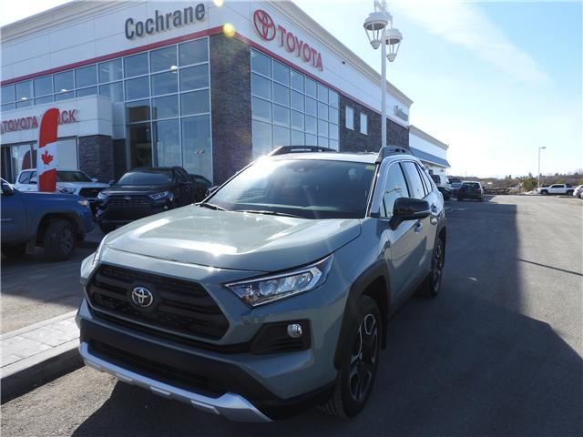 2019 Toyota RAV4 Trail (Stk: 190213) in Cochrane - Image 1 of 16