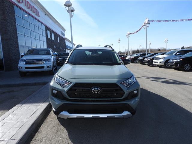 2019 Toyota RAV4 Trail (Stk: 190213) in Cochrane - Image 2 of 16